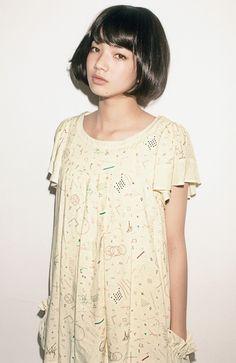Cut the hair! Japanese Model, Japanese Beauty, Asian Beauty, Fashion 101, Fashion Photo, Short Hair Cuts, Short Hair Styles, Komatsu Nana, Beautiful Figure