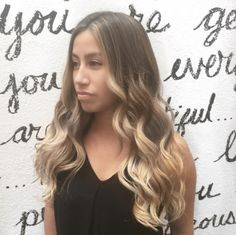 Styled Colored Cut by Corie Ambert at Salon Bordeaux - ⚡️Honey Blonde Bombshell⚡️Babylights & Balayage with some handpainted Pops of honey in SEQ & on this mega BABE - Summer Hair Honey Blonde Balayage Ombre Light Brown Long Hair Honey Hair, Long Brown Hair, Blonde Balayage, Summer Hairstyles, Dyes, Dyed Hair, Bordeaux, Hair Ideas, Photo And Video