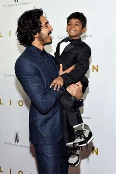 Dev Patel and Sunny Pawar - D Dipasupil/Getty Images