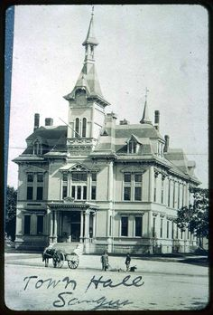 Saugus Town Hall, Central Street, Built in 1875 · Saugus Public Library, Saugus, Mass. Digital Heritage