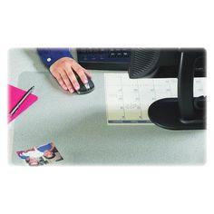 "ARTISTIC LLC                                       Artistic Products Krystal View Nonglare Desk Mat Size: 17"" x 12"""