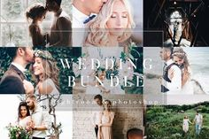 Wedding Bundle 75 Items LR & PS by PhotographersHelper on @creativemarket