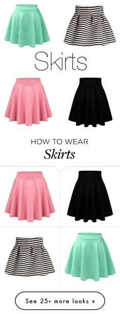 """""""Skirts"""" by andreita02 on Polyvore featuring LE3NO and Molo"""