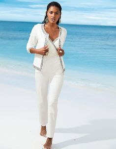 #madeleinefashion #sale Madeleine Fashion, Pretty Outfits, Pretty Clothes, Summer Sale, Creme, White Jeans, Silhouette, Beautiful, White Pants