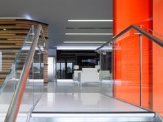 Lighting Design @ Jaguar Range Rover Offices UK from Edward Ray International