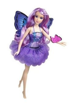 Catch Butterfly Fairy Twins Rayna And Rayla The Beautiful Sisters Best Friends Of Mariposa From Barbie DVD On Their Exciting Journey To