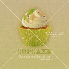 15-Cupcake-Green-collection-number-15