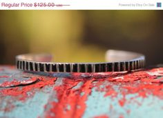 Sale Sterling Silver Zuni Inlay Bracelet Cuff by Yourgreatfinds