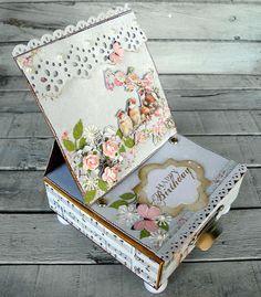 piabau: gavekort/ staffelikort med sommerfugle
