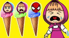 The Witch bully Masha Crying Dora Ice Cream Spiderman Lollipop Masha And...