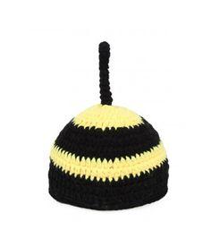 Needybee Yellow And Black Bee Crochet Photo Prop Dress Up Set