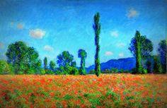 Champs de coquelicot à Giverny, Claude Monet, 1890-1891