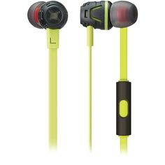 5bb629fb4c8 Phiaton By Cresyn C450S Green Extreme Bass Boosting In-Ear Headphones with  Microphone (Green)