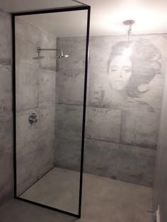 Drzwi Loftowe - Industrialne | Drzwi wewnętrzne - zabudowy szklane - drzwi loft - podłogi Door Mirrors, Diy Home Crafts, Bad, Entryway, Bathtub, Loft, Doors, Bathroom, Nice