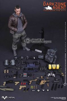 The Dark Zone Agent Stalker inspired by The Division 1/6 Figure 30cm VTS TOYS VM-017 VTS