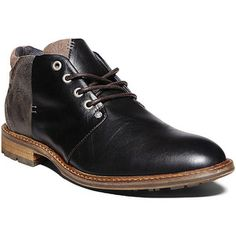 RALPH LAUREN COLLECTION Black High Polish Calfskin Brenly Half Boots