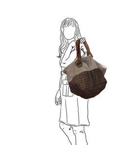 Recycled bags, cabas bag de la boutique Pigmentit sur Etsy