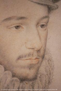 La représentation continue 1718 - François Clouet, av. 1520-1572, Henri, duc d'Anjou, avant qu'il ne devienne Henri III, v. 1571 — exp. Les Tudors, musée du Luxembourg, Paris, France   Flickr - Photo Sharing!