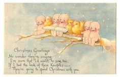 Kewpie  Postcard Rose O'Neill