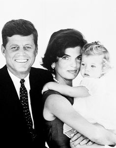 The Kennedy's photographed by Jacques Lowe, August 1960.