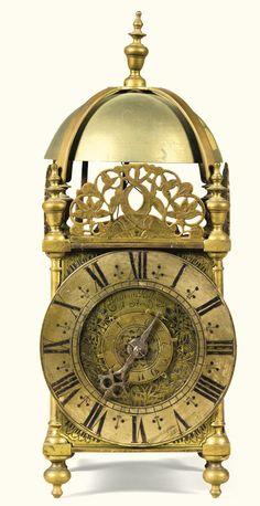 Vintage William & Mary brass lantern clock with alarm, William Holloway, Stroud, circa 1690 | Lot | Sotheby's