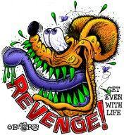Revenge Rat Fink T-shirt. http://www.ratfink.com/