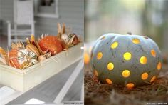 There are so many different ideas for how you want to do your pumpkin. There are tons of awesome ideas.