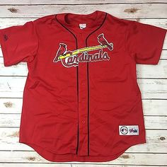 Vintage 90s Majestic St. Louis Cardinals Mark McGwire Mens Baseball Jersey XL  | eBay