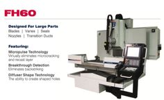 Beaumont EDM Machine Model FH 60 (6 Axis Fast Hole) product brochure (front page)