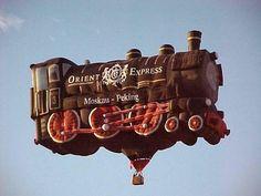 The Orient Express ~ Hot Air Balloon Festival 02 Bubble Balloons, Big Balloons, The Balloon, Hot Air Balloon, Bubbles, Air Balloon Festival, Balloon Pictures, Peking, Air Ballon