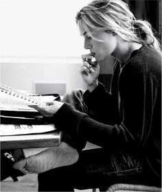 Kate Winslet reading.