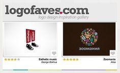 logofaves.com   15 Best Sites For Logo Design Inspiration #Logo #Design #Inspiration