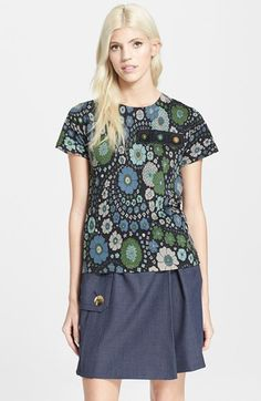 MARC JACOBS Floral Print Short Sleeve Tee available at #Nordstrom