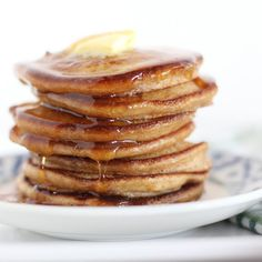 Light and Fluffy 100% Whole Wheat Pancakes