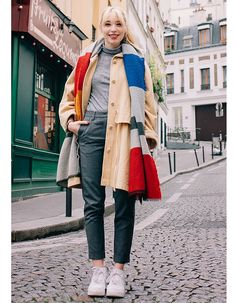31 Perfect March Outfits To Put Into Rotation Now March 11  For a more polished take on a pair of sneakers, wear them with slightly cropped trousers and a skinny turtleneck.