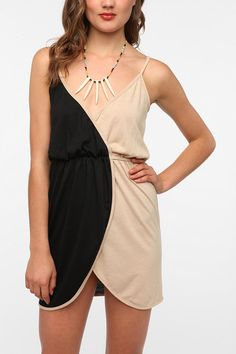 Urban Renewal Surplice Wrap Dress Online Only