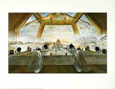 Salvador Dalí - Das letzte Abendmahl, 1955