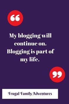 My Blogversary -Continuing to Blog On
