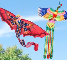 """""""Kites rise highest against the wind; not with it.""""  ~ Sir Winston Churchill      Hand-Painted Balinese Kites 