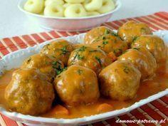 pulpety-w-sosie-pomidorowym1 Food Handling, Polish Recipes, Polish Food, Yummy Food, Tasty, Diet And Nutrition, Meal Planning, Food Porn, Easy Meals