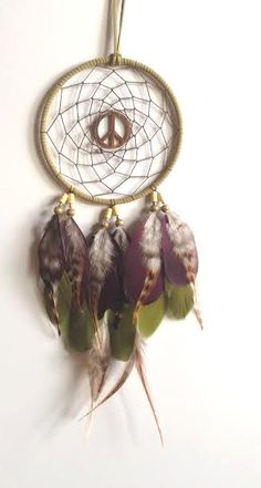 This dream catcher is hung up right next to my bed. It reminds me to always be positive.