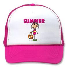 Summer Beach Gift Trucker Hat