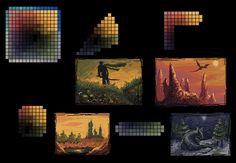 Eu adoraria manjar de pixel art, acho tão bonito - Fórum UOL Jogos
