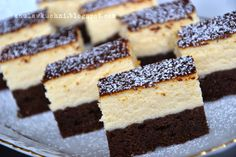 New Easy Cake : Anula in the kitchen: cheesecake on black, Mini Cakes, Cupcake Cakes, Baking Recipes, Cake Recipes, Polish Recipes, Food Cakes, Holiday Desserts, Coffee Cake, Cake Cookies