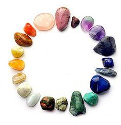 ❦ CHRYSTALS ❦ semi precious stones ❦ inaures-en:    Idea para una pulsera multi-color de piedras preciosas