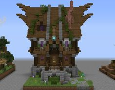 Elven Cosy House 1 GrabCraft Your number one source for MineCraft buildings blueprints tips i Minecraft house designs Minecraft designs Minecraft houses