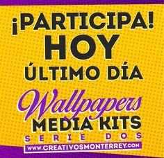 HOY ÚLTIMO DÍA PARA PARTICIPAR envía tu página, tu book o alguno de tus trabajos a creativosmonterrey@gmail.com, a los seleccionados les llegará un correo en esta semana!!!