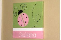 Wall Words HandPainted Wood on 12 x 12 by AllSpelledOut on Etsy, $43.00