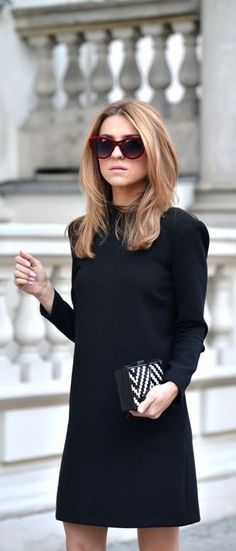 LoLoBu - Women look, Fashion and Style Ideas and Inspiration, Dress and Skirt Look Street Style Outfits, Looks Street Style, Looks Style, Style Me, Classic Style, Simple Style, Fashion Mode, Look Fashion, Autumn Fashion