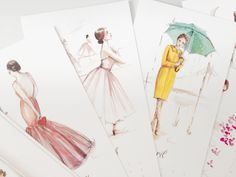 PAPERFASHION - one of my favourite illustrators :)